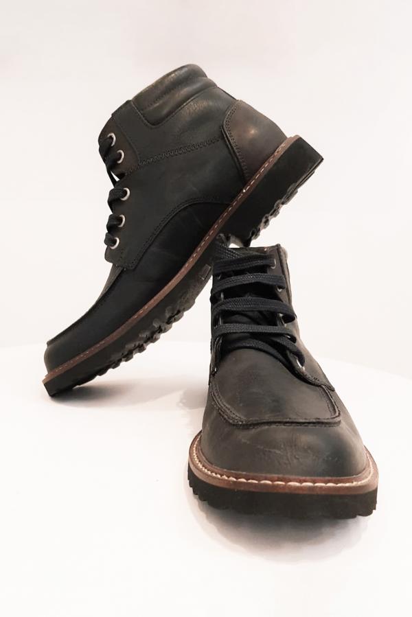 bota masculina preta bz49-2